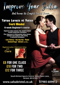 Eight Week Bachata Course